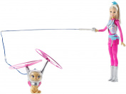 "Barbie Dwd24 ""Doll And Hover Cat"" Toy"