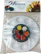 Art Advantage ART-3012VP 12 Colour Watercolour Compact Paint Set with Palette