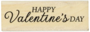 Hero Arts Happy Valentine's Day Mounted Rubber Stamp, 7cm by 2.5cm