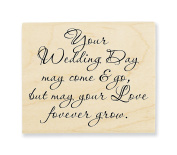 Stampendous Your Wedding Rubber Stamp