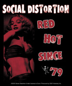 Licences Products Social Distortion Red Hot Sticker