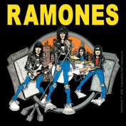 Licences Products The Ramones Road To Ruin Sticker