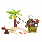Disney Princess Dpr Moana Maui & Kakamora Playset