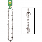 Football Beads (silver)