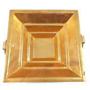 Special Authentic Traditional Indian Style Copper Hawan Kund Agnihotra Ideal Pooja Accessory Ritual Part