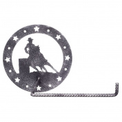 Gift Corral Toilet Paper Holder - Barrel Racer