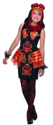 Ever After High Lizzie Hearts Costume, Child's Small