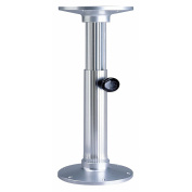 Garelick/Eez-In Manual Adjustable Table Base - Polished Finish