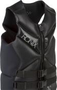 Ronix Pulse Capella CGA Life Jacket - Black / Metallic Silver - 2015