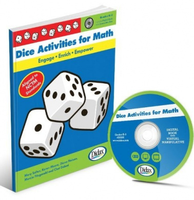 Didax Educational Resources Dice Activities For Math Book