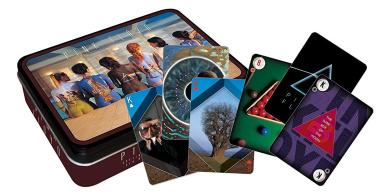 Pink Floyd Back Art Playing Card Tin