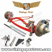 Vintage Parts 456 Super Deluxe Hair Pin Solid Axle Kit