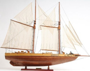 Old Modern Handicrafts Fully Assembled Bluenose II Collectible