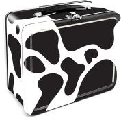 Aquarius Cow Tin Large Tin Fun Box