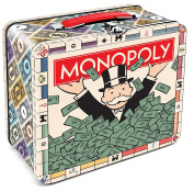 Aquarius Monopoly Large Tin Fun Box/Bank
