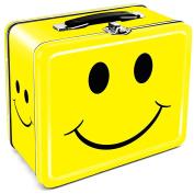Aquarius Happy Face Tin Lunch Box