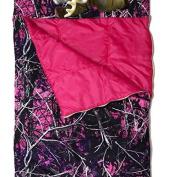 Carstens RT509D Muddy Girl Slumber Bag With Deer pillow Muddy Girl Camo Slumber Bag With Deer pillow