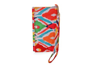 All For Colour Multi Ikat ID Wristlet