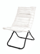 Urban Shop Dream Chair with Memory Foam, White