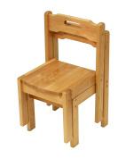 A+ ChildSupply Birch Stackable Chair 30cm H
