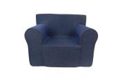 Fun Furnishings The Ultimate Kid's Chair, Denim