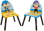 Fantasy Fields - Pirates Island Set of 2 Chairs -B