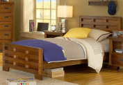 American Woodcrafters Heartland Captain's Bed, Full