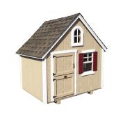 Little Cottage Company Teacup Playhouse DIY Floor Playhouse Kit