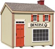 Little Cottage Company Dentist Office DIY Playhouse Kit, 3m x 3.7m