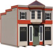 Little Cottage Company Law Office DIY Playhouse Kit, 3m x 3.7m