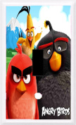 Got You Covered Angry Birds Movie 2016 Framed Decorative Light Switch Covers or Outlets, Option 2 Toggle