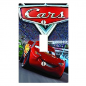 Got You Covered Disney Cars Light Switch Covers or Outlets Featuring the Whole Crew 1X Toggle