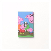Got You Covered Peppa Pig Family Light Switch Cover