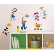 RoomMates RMK2534SCS Mickey and Friends Animated Fun Peel and Stick Wall Decals