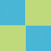 Wall Pops 94194 Aqua and Lime Circle Stickers