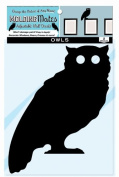 Moulding Mates Owls 2 Moulding Mates Home Decor Peel and Stick Vinyl Wall Decal Stickers