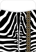 Barker Creek - Office Products Peel & Stick Pockets, Zebra