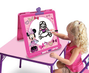 Minnie 89195 Minnie Mouse Blossoms and Bows Little Artist Double Sided Easel Toy