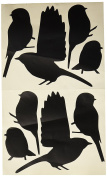 Moulding Mates Chickadees 8 Moulding Mates Home Decor Peel and Stick Vinyl Wall Decal Stickers