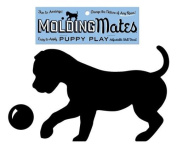 Moulding Mates Puppy Play 2 Moulding Mates Home Decor Peel and Stick Vinyl Wall Decal Stickers
