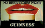 Guinness 'No Beer Comes Near' Wall Art