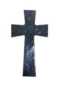 Faith and Praise Illuminations CR104 Graphite Metallic Painted Cross