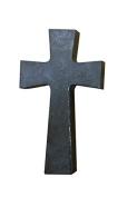 Faith and Praise Illuminations CR107 Smoke Screen Metallic Painted Cross