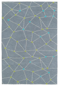 Kaleen Rugs Lily & Liam Collection LAL08-75 Grey Machine Tufted Rug, 1.5m x 2.1m