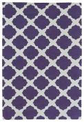 Kaleen Rugs Lily & Liam Collection LAL01-95 Purple Machine Tufted Rug, 0.6m x 0.9m