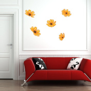 Style and Apply Sunflowers Wall Decal Set