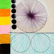 Wheatpaste Art Collective Wheels Stretched Canvas Wall Art by Jennifer Sanchez, 60cm by 60cm