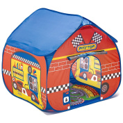 Fun2Give Pop-It-Up Pit Stop Tent with Race Mat Playhouse