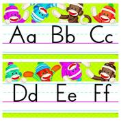 ARGUS Sock Monkeys Alphabet Line