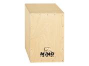 Nino Percussion NINO952 45cm Birch Cajon, Natural Finish